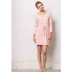 Saturday Sunday Red Poppy Chemise Sweater Dress